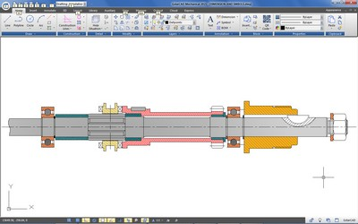 GstarCAD Mechanical Drafting Tools