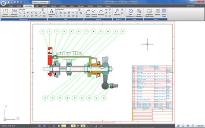 GstarCAD Mechanical Part List